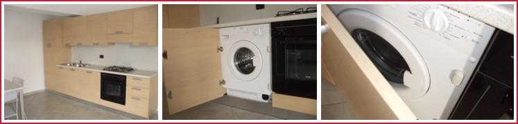 Stunning cucina con lavatrice incassata contemporary - Cucine con lavatrice ...